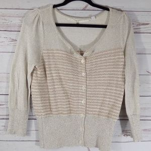 Anthropology (knitted & knotted) Medium cardigan